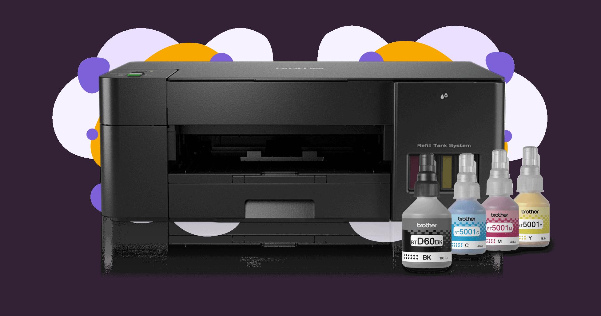Impresora de inyección de tinta continua Brother DCP-T220