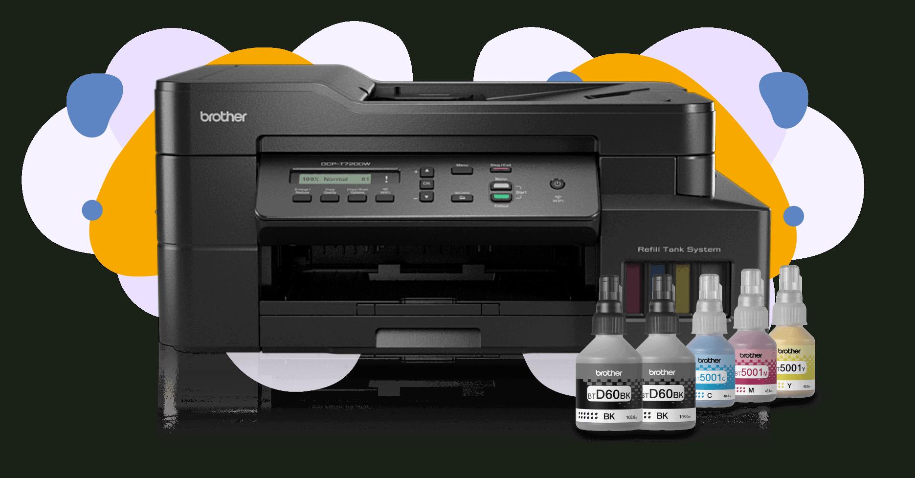 Nuevo Multinfuncional de Inyección de Tinta Continua de Brohter DCP-T720DW