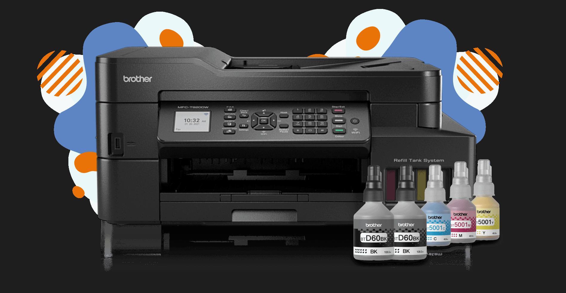 Nuevo Multinfuncional de Inyección de Tinta Continua de Brohter MFC-T920DW