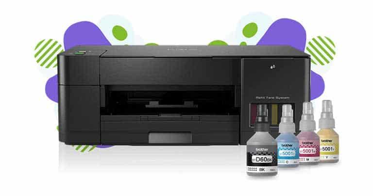 Impresora de inyección de tinta continua Brother DCP-T420W